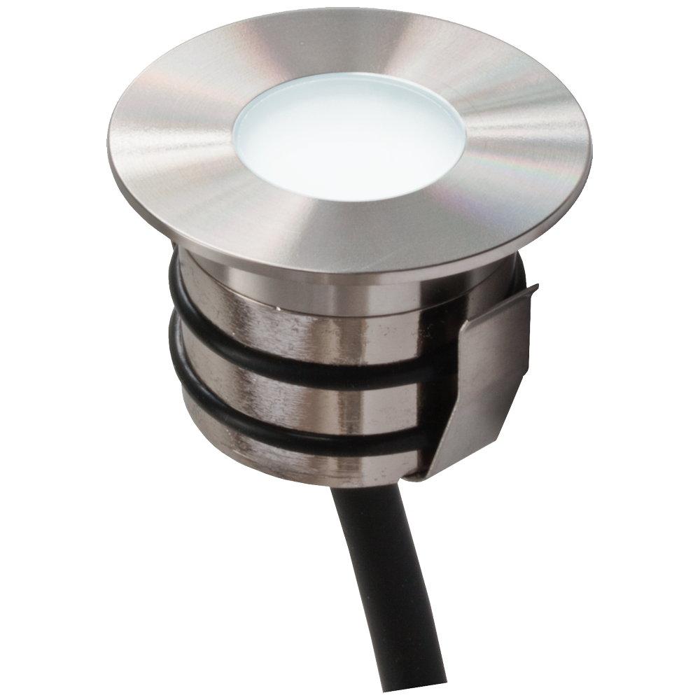led bodeneinbau rund eds alu ip65 12v dc 0 6w. Black Bedroom Furniture Sets. Home Design Ideas