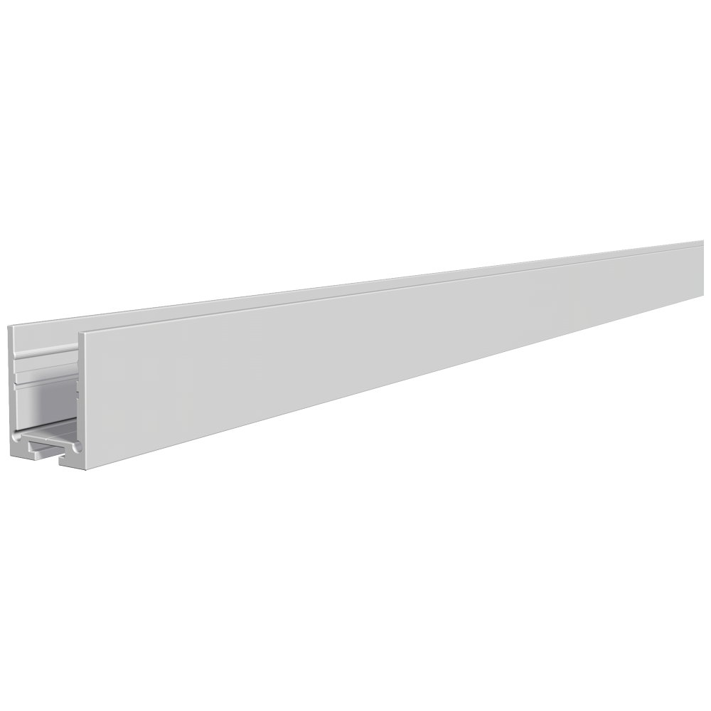 u profil hoch aluminium profil 200cm alu eloxiert. Black Bedroom Furniture Sets. Home Design Ideas